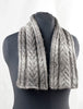 Eco Duo Cabled Scarf