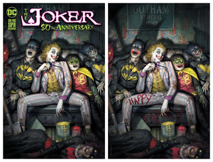 JOKER 80TH ANNIVERSARY #1 BROWN EXCLUSIVE