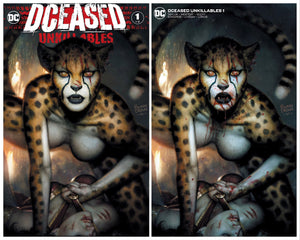 DCEASED UNKILLABLES #1 BROWN EXCLUSIVE