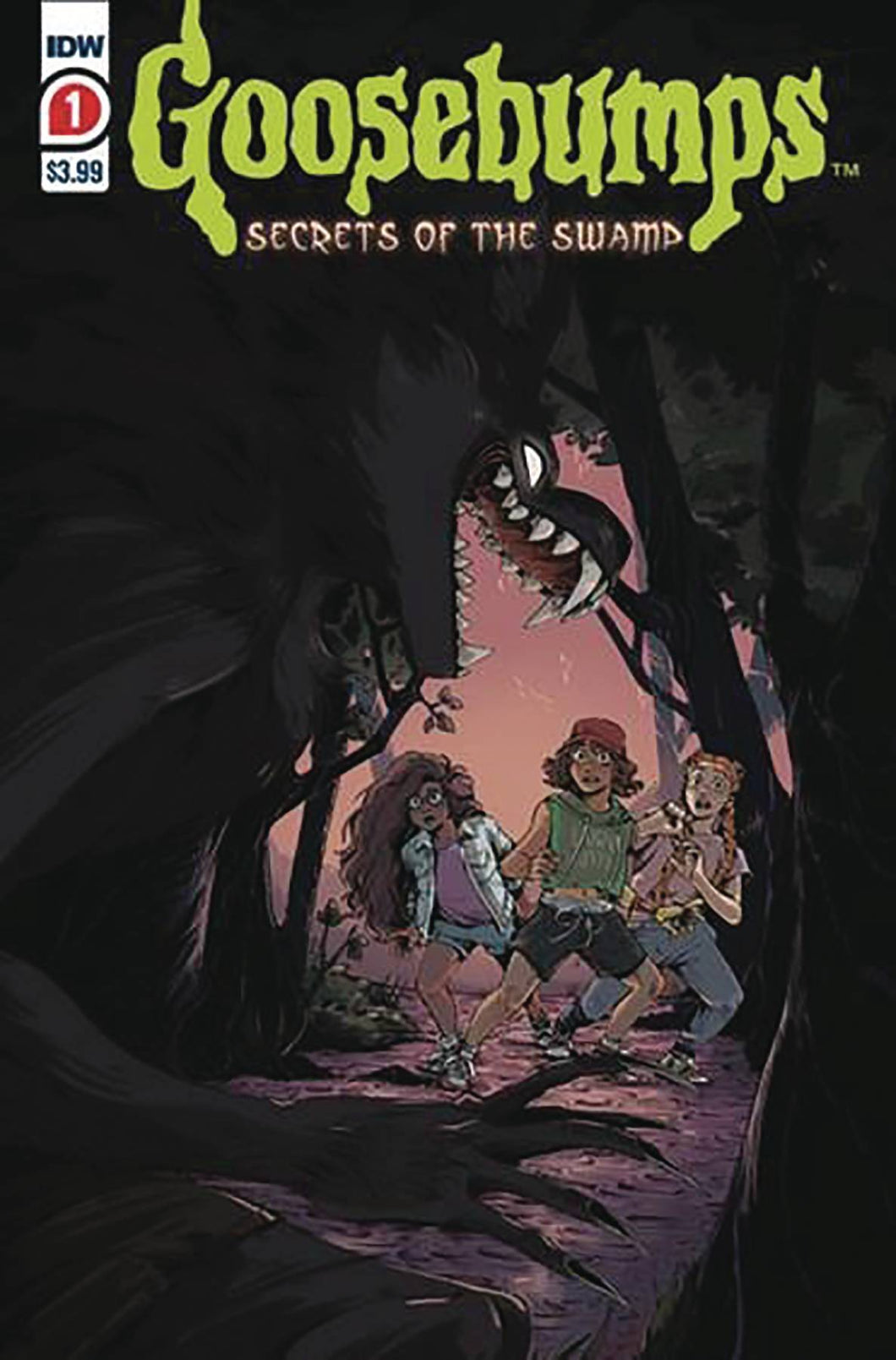 GOOSEBUMPS SECRETS OF THE SWAMP #1 (OF 5) 2ND PTG