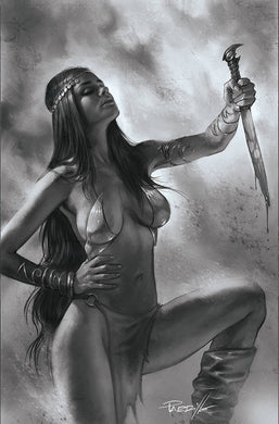 DEJAH THORIS (2019) #12 50 COPY PARRILLO B&W VIRGIN INCV
