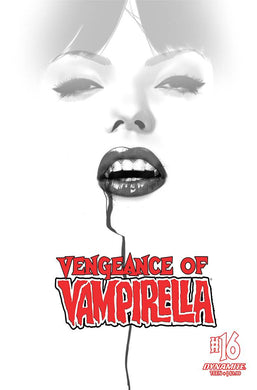 VENGEANCE OF VAMPIRELLA #16 30 COPY OLIVER B&W INCV