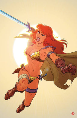 RED SONJA THE SUPERPOWERS #4 25 COPY KANO VIRGIN INCV