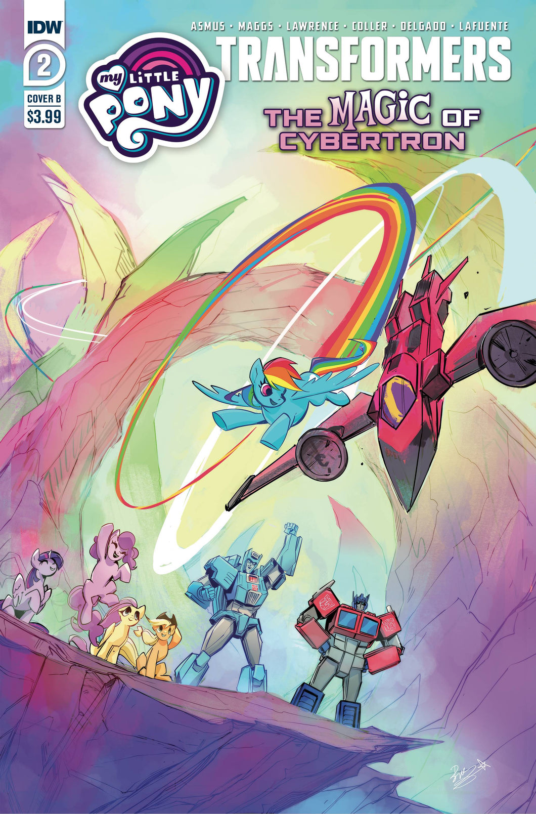 MLP TRANSFORMERS II #2 (OF 4) CVR B BETHANY MCGUIRE-SMITH (PRE-ORDER)