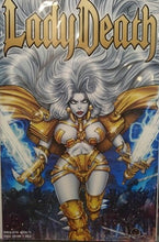 Load image into Gallery viewer, LADY DEATH APOCALYPTIC ABYSS #1: CHASE EDITION GOLD