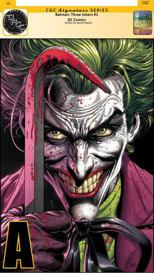 THE THREE JOKERS INDIVIDUAL COVERS