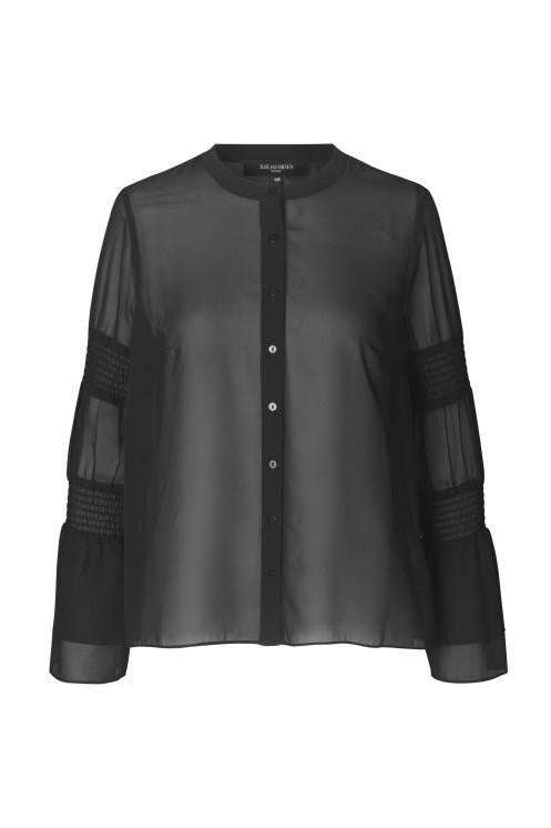IJ SHEER BLOUSE