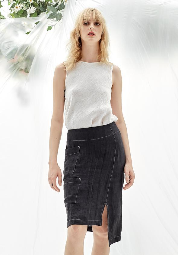VERONIQUE MILJKOVITCH  FRANCES SKIRT - StudioRA Boutique