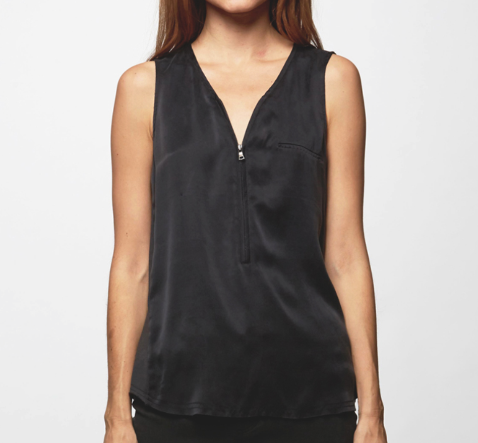Go Silk Zippy Tank - StudioRA Boutique