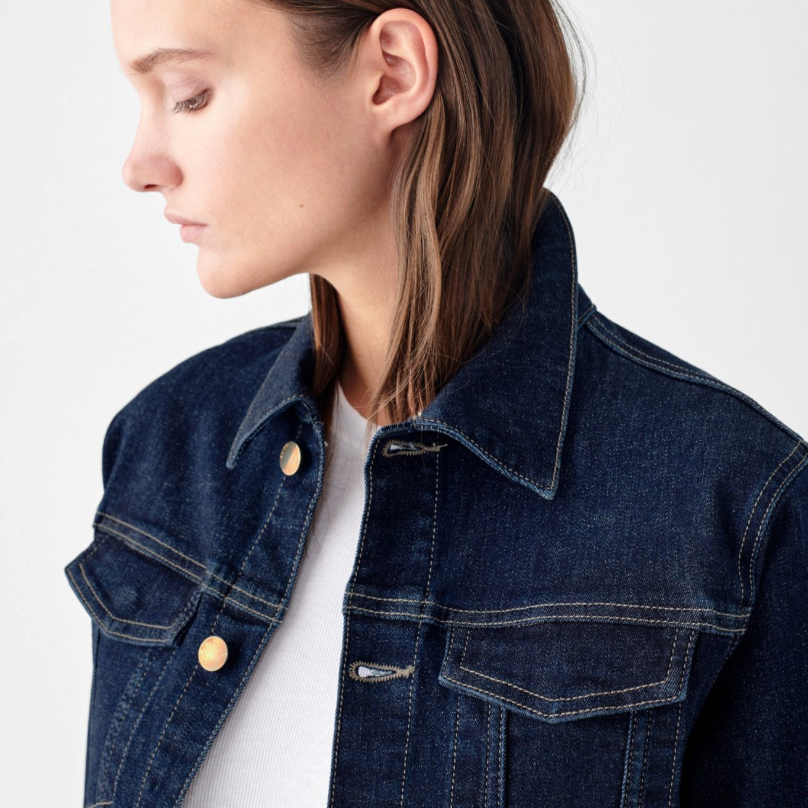 DL 1961 Jane Slim Jean Jacket - StudioRA Boutique