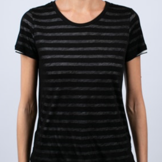 MAJ DBL LAYER TEE - StudioRA Boutique