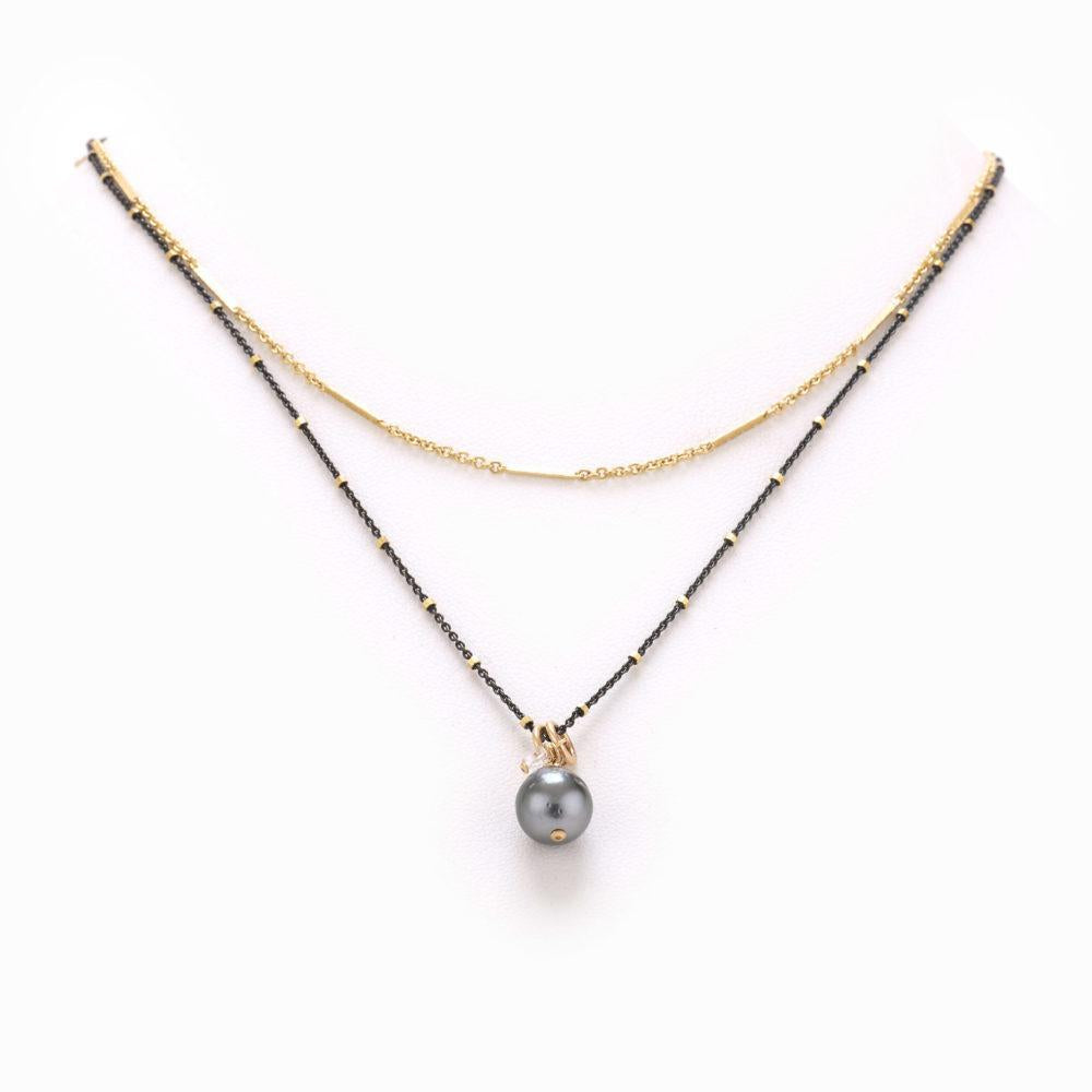 T&T Ezra Mixed Metal Necklace *