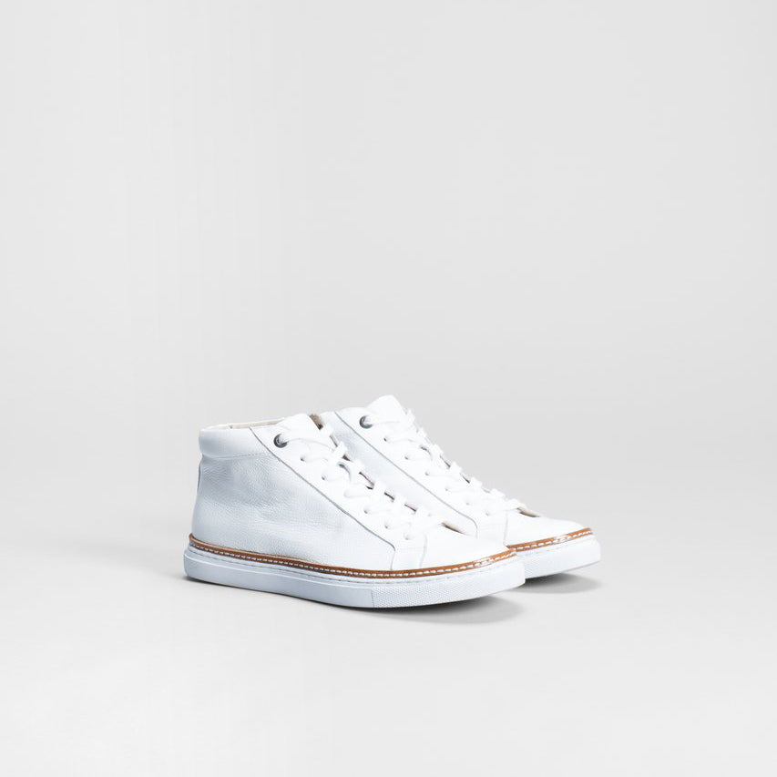 ELK PURNO HIGH TOP WHITE - StudioRA Boutique