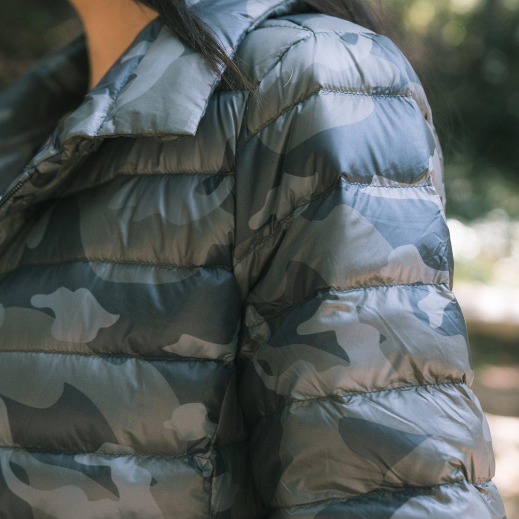 ANORAK Crop Sleeve Puffer - StudioRA Boutique