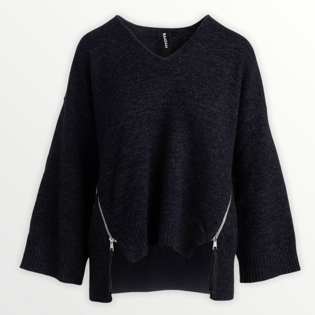 NAADAM Oversized V-Neck Sweater - StudioRA Boutique