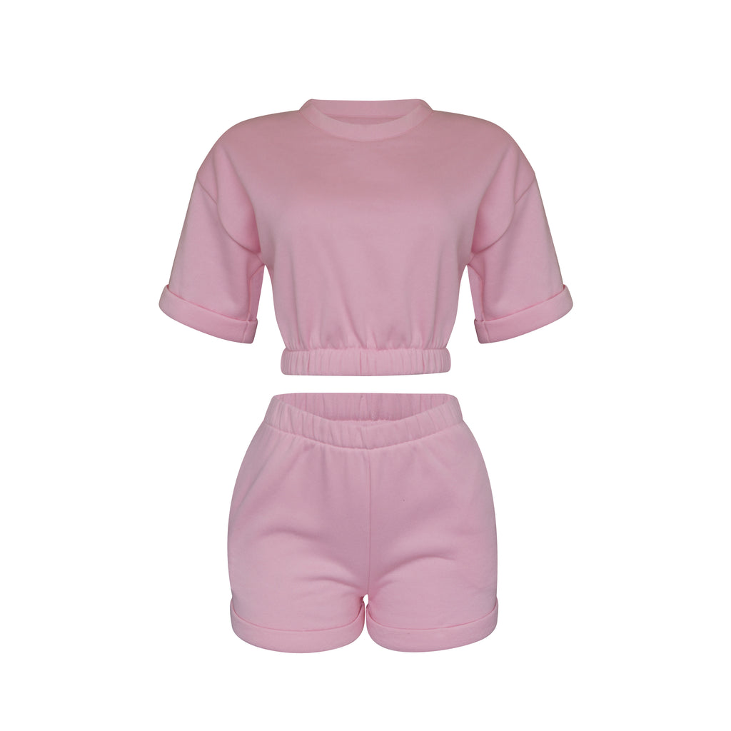 Playsuit Top In Baby Pink [PRE-ORDER]