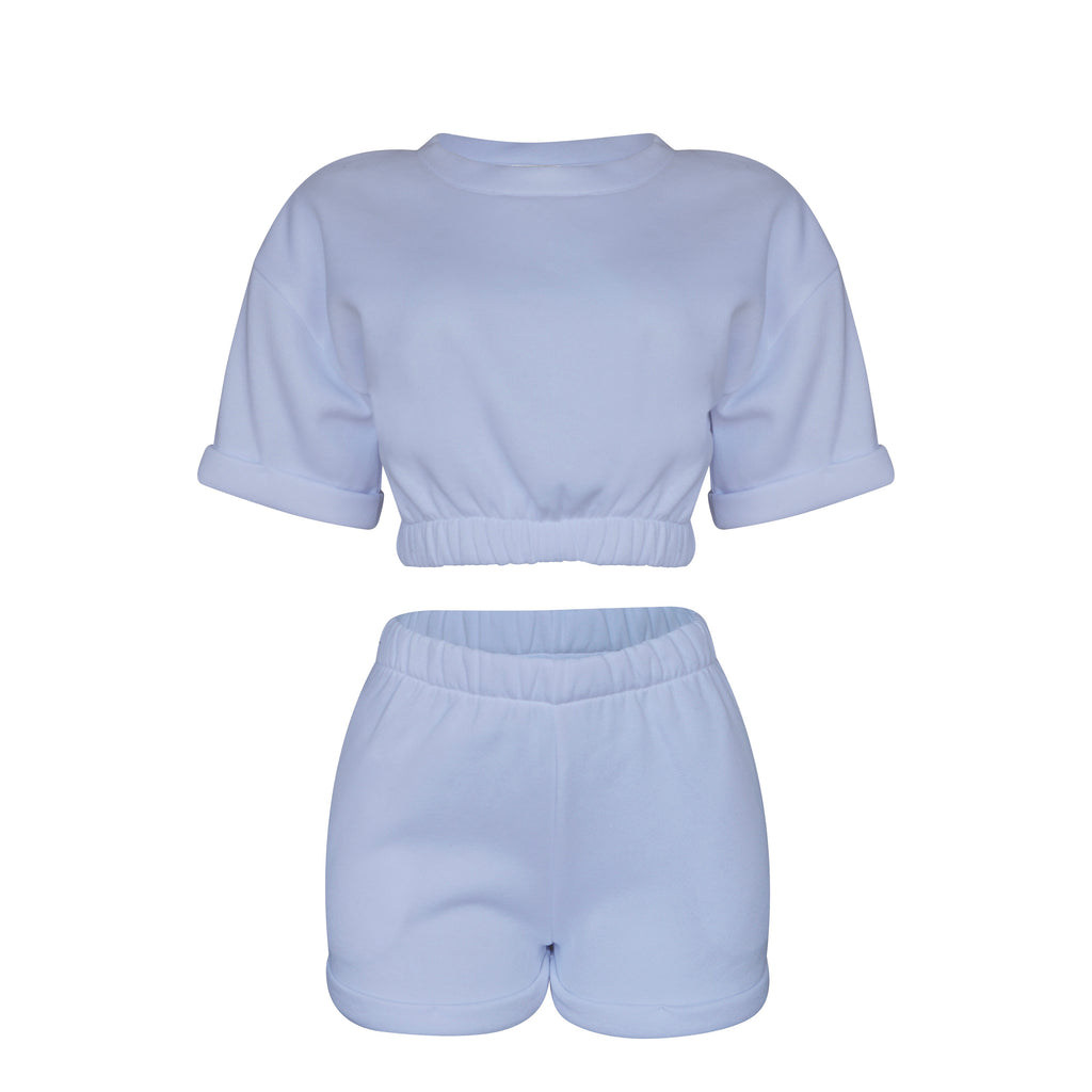 Playsuit Set in White [PRE-ORDER]