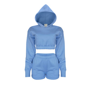 Playsuit IV Set In Baby Blue [PRE-ORDER]