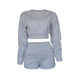 Playsuit III Set In Heather Gray [PRE-ORDER]