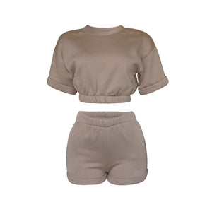 Playsuit Set in Mocha [PRE-ORDER]