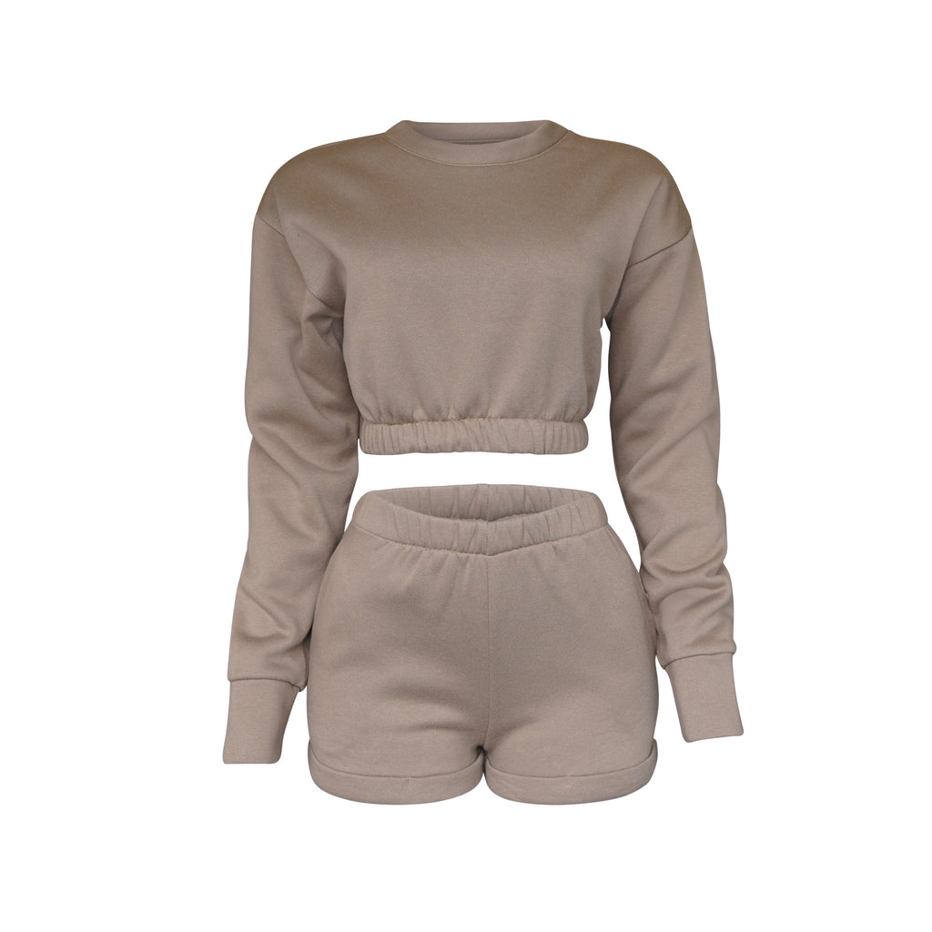 Playsuit III Top In Mocha [PRE-ORDER}
