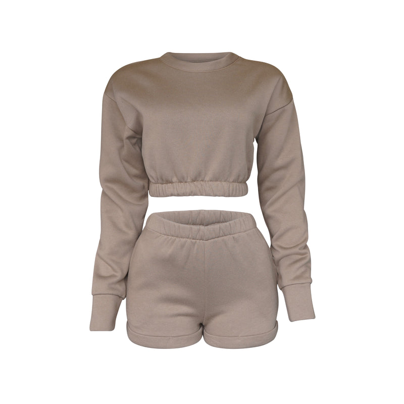 Playsuit III Set In Mocha [PRE-ORDER]