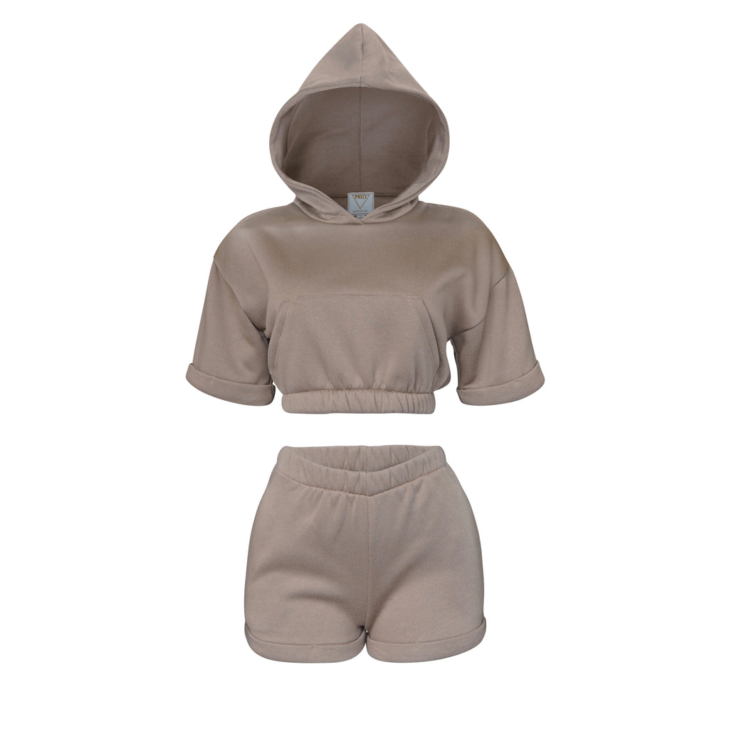 Playsuit ll Top In Mocha [PRE-ORDER]
