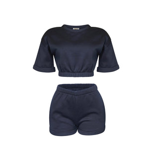 Playsuit Short In Black [PRE-ORDER]