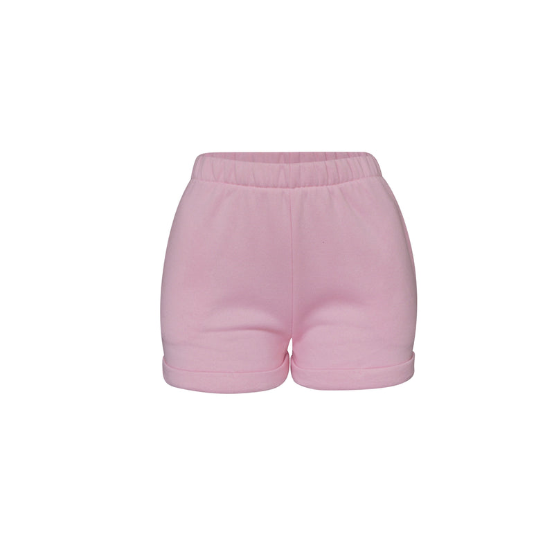 Playsuit Short In Baby Pink [PRE-ORDER]