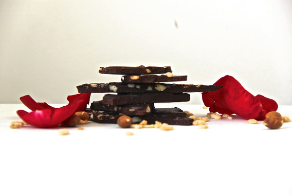 Love Potion Crisp Chocolate Bark
