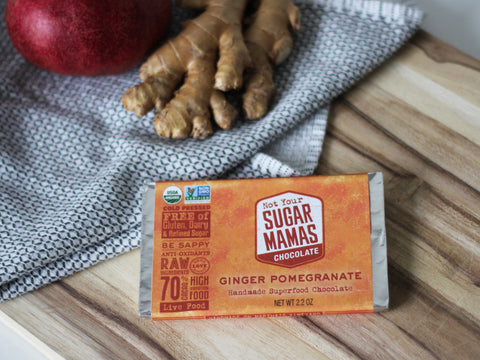 Ginger Pomegranate Bar