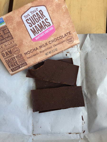 Mocha Mylk Chocolate Bar