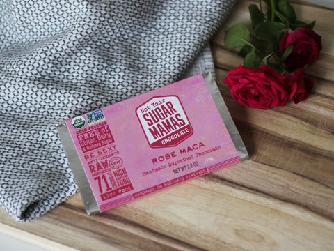 Rose Maca Chocolate Bar