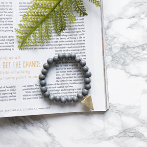 Rosie Bracelet in Gray