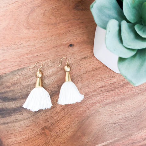 Evelyn Tassel Earrings