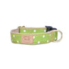 Lime Dot Collar