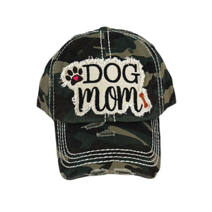 Camo Dog Mom Hat