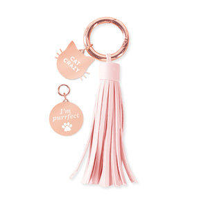 Collar Charm & Key Chain Set