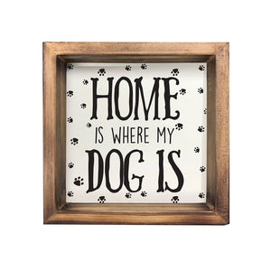 Home Wood Plaque
