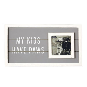 My Kids Have Paws Frame