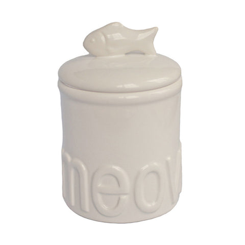 Meow Treat Jar