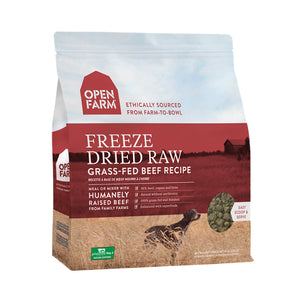 Open Farm Freeze Dried Beef Recipe