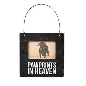 Pawprints In Heaven Mini Frame