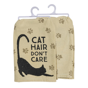 Cat Hair Don't Care Towel