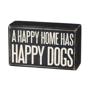A Happy Home Sign