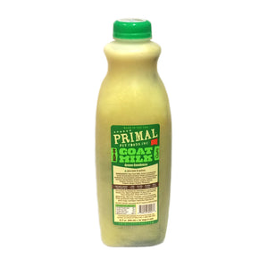Primal Raw Goat Milk - Green Goodness