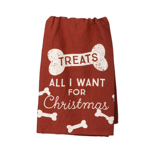 All I Want For Christmas Towel