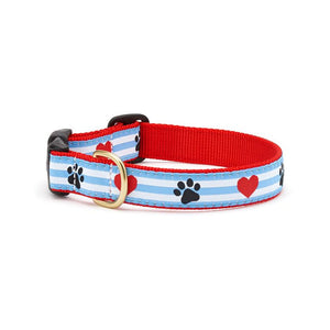 Pawprint Stripe Collar