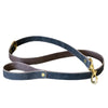Crazy Horse Gray Leather Collar