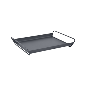 Fermob ALTO Metal Tray in Anthracite